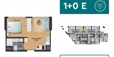 Mint E5 Kat ve Daire Plan Resimleri-9