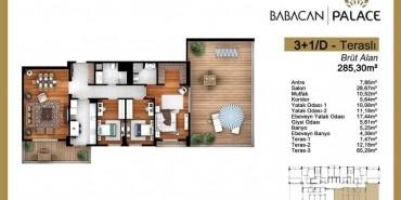 Babacan Palace Kat ve Daire Plan Resimleri-25