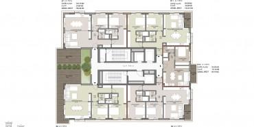 Seba Suites Kat ve Daire Plan Resimleri-17