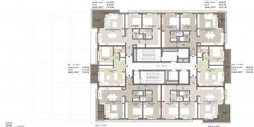 Seba Suites Kat ve Daire Plan Resimleri-13