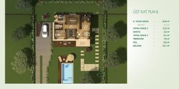 Yeşilyaka Koru Kat ve Daire Plan Resimleri-3