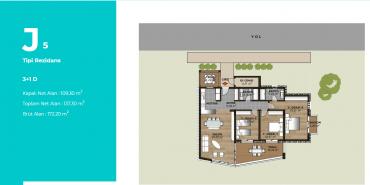 Mesa Bodrum Kat ve Daire Plan Resimleri-16