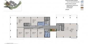 Seba Office Boulevard Kat ve Daire Plan Resimleri-2