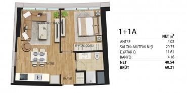 Deluxia Park Residence Kat ve Daire Plan Resimleri-9