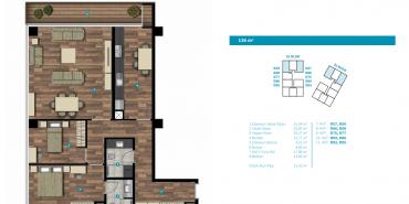 Seba Flats Cendere Kat ve Daire Plan Resimleri-7