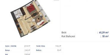 Batışehir Kat ve Daire Plan Resimleri-19