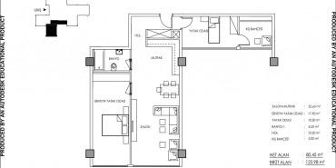 Babacan Palace Kat ve Daire Plan Resimleri-11