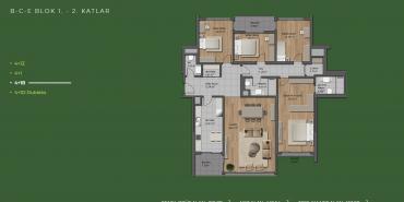 Mesa Orman Kat ve Daire Plan Resimleri-32