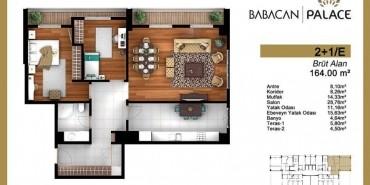 Babacan Palace Kat ve Daire Plan Resimleri-15