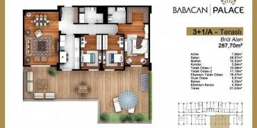 Babacan Palace Kat ve Daire Plan Resimleri-19