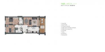 AND Pastel Kat ve Daire Plan Resimleri-33