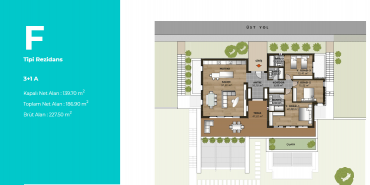 Mesa Bodrum Kat ve Daire Plan Resimleri-8