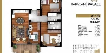 Babacan Palace Kat ve Daire Plan Resimleri-20