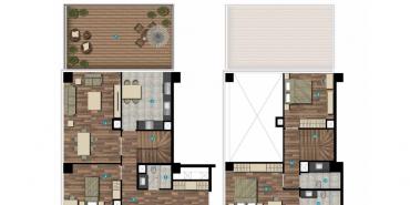 Seba Flats Cendere Kat ve Daire Plan Resimleri-8