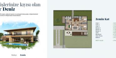 Yeşilyaka Su Kat ve Daire Plan Resimleri-2