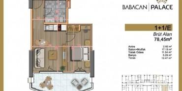 Babacan Palace Kat ve Daire Plan Resimleri-6