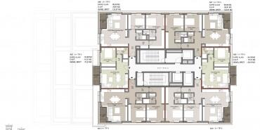 Seba Suites Kat ve Daire Plan Resimleri-10