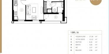 Midtown Selenium By Deyaar Kat ve Daire Plan Resimleri-2