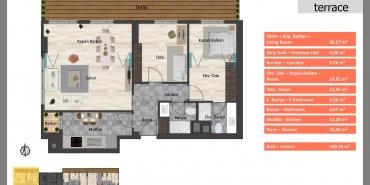 Babacan Palace Kat ve Daire Plan Resimleri-17
