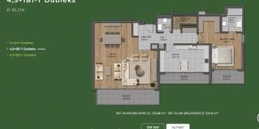 Mesa Orman Kat ve Daire Plan Resimleri-20
