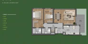 Mesa Orman Kat ve Daire Plan Resimleri-1