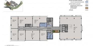Seba Office Boulevard Kat ve Daire Plan Resimleri-3