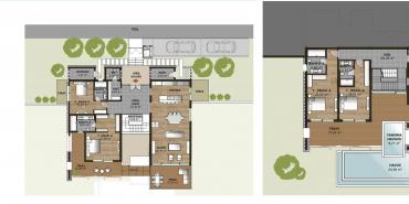 Mesa Bodrum Kat ve Daire Plan Resimleri-1