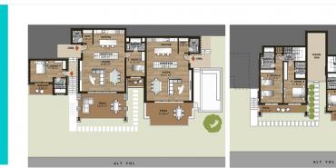 Mesa Bodrum Kat ve Daire Plan Resimleri-11