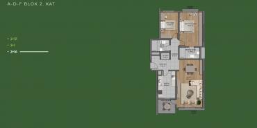 Mesa Orman Kat ve Daire Plan Resimleri-26
