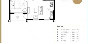 Midtown Selenium By Deyaar Kat ve Daire Plan Resimleri-3
