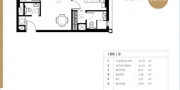 Midtown Selenium By Deyaar Kat ve Daire Plan Resimleri-5
