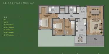 Mesa Orman Kat ve Daire Plan Resimleri-27