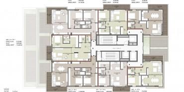 Seba Suites Kat ve Daire Plan Resimleri-6