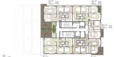 Seba Suites Kat ve Daire Plan Resimleri-11