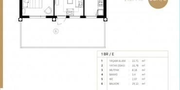Midtown Selenium By Deyaar Kat ve Daire Plan Resimleri-6