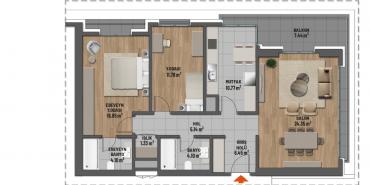 Mesa Cadde Kat ve Daire Plan Resimleri-9
