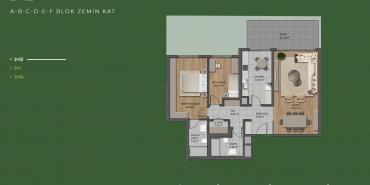 Mesa Orman Kat ve Daire Plan Resimleri-24