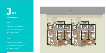 Mesa Bodrum Kat ve Daire Plan Resimleri-15