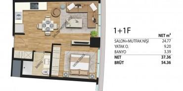 Deluxia Park Residence Kat ve Daire Plan Resimleri-12