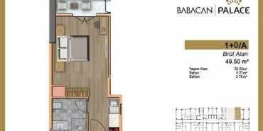 Babacan Palace Kat ve Daire Plan Resimleri-1