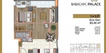 Babacan Palace Kat ve Daire Plan Resimleri-7