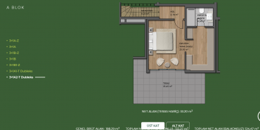 Mesa Orman Kat ve Daire Plan Resimleri-17