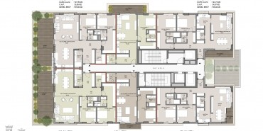 Seba Suites Kat ve Daire Plan Resimleri-3