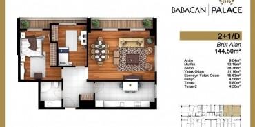 Babacan Palace Kat ve Daire Plan Resimleri-13
