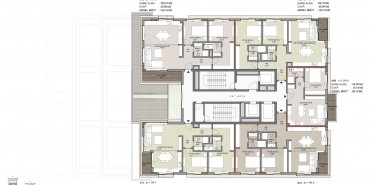 Seba Suites Kat ve Daire Plan Resimleri-12