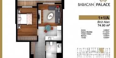Babacan Palace Kat ve Daire Plan Resimleri-2