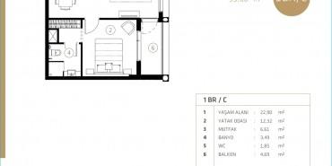 Midtown Selenium By Deyaar Kat ve Daire Plan Resimleri-4