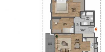 Mesa Cadde Kat ve Daire Plan Resimleri-8