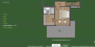 Mesa Orman Kat ve Daire Plan Resimleri-15