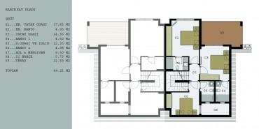Seba Manolya Evleri Kat ve Daire Plan Resimleri-1